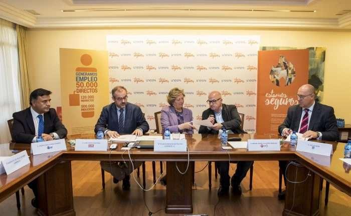 Firma convenio colectivo aseguradoras y mutuas trabajo